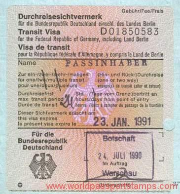 How to Apply for Germany Transit Visa 2018