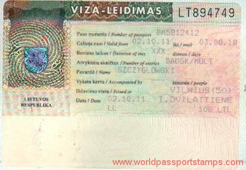 travels to Lithuania