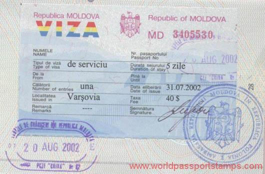 travels to Moldova