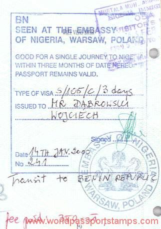 travels to Nigeria