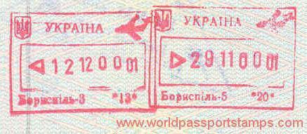 residence in Ukraine
