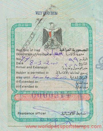 travels to Iraq