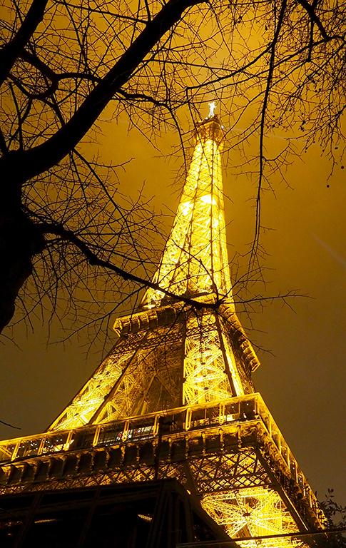 11 Tour Eiffel noche