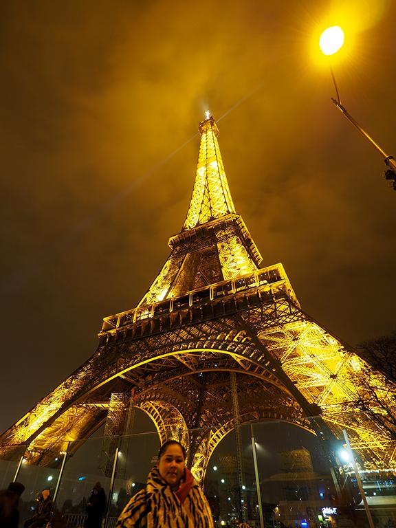 14 Tour Eiffel noche