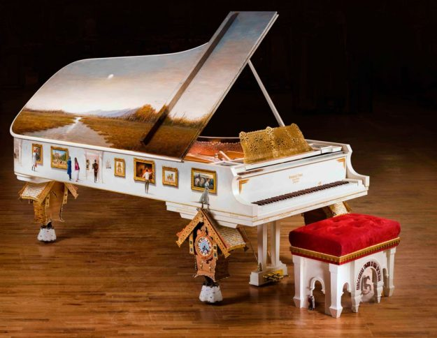 Pictures at an Exhibition Steinway Model D