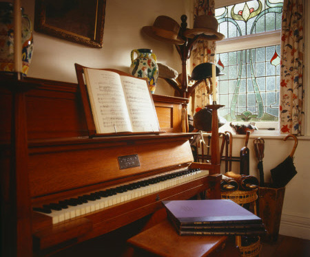 The Walter Cave Bechstein at Shaw's Corner