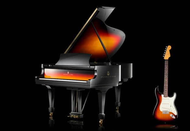 Steinway and Fender
