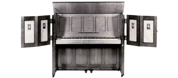 "Strohmenger & Sons ""Manxman"" upright piano"