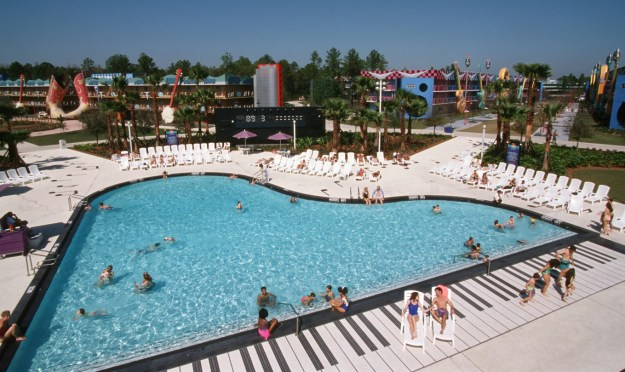 Disney's All-Star Music Resort swimming pool