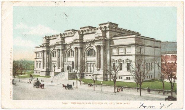 The Metropolitan Museum of Art in 1898