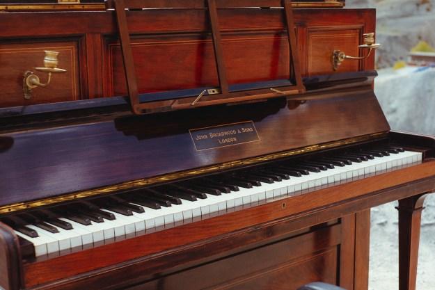 The Broadwood upright piano