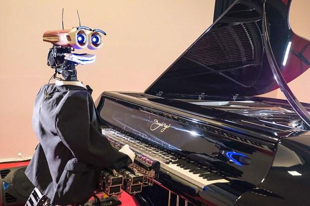 TeoTronico, an Italian robot pianist