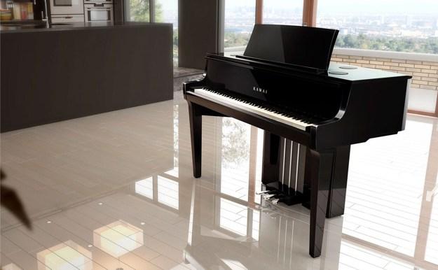 Kawai Novus NV10 hybrid piano in domestic setting