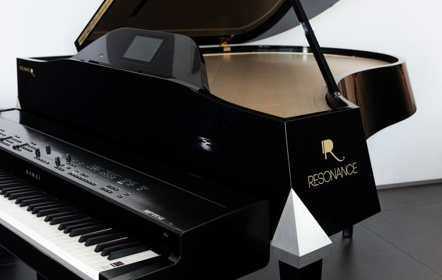 Resonance Piano (horizontal) fitted with Kawai MP11SE Stage Piano