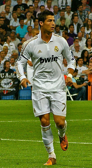 Cristiano Ronaldo playing for Ajax