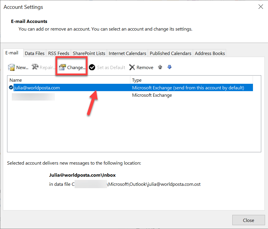 c users farah appdata local microsoft windows ine 1 - The outlook is configured to prompt for your credentials