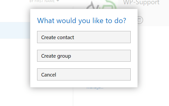 4 - Creating a Contact Group