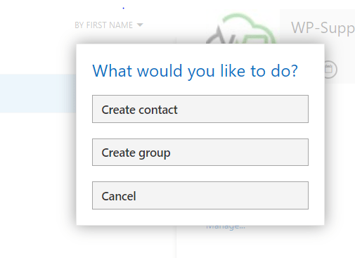 Capture 1 - Creating Contacts