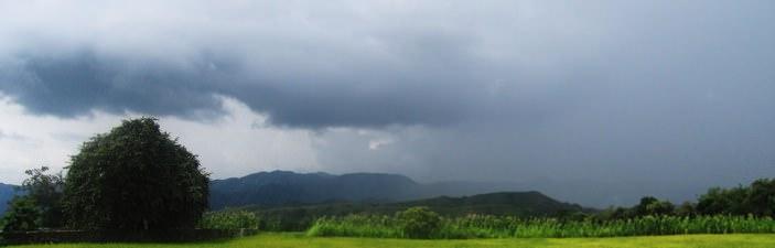 Avoiding Rain Colombia
