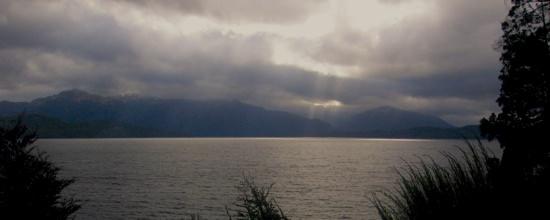 Bariloce Lake Scene-1