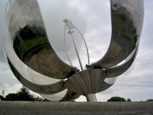 Bsas Flower Sculpture