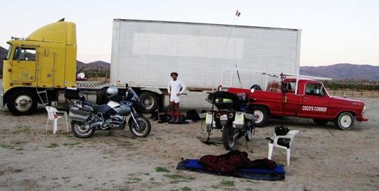 Camping At Cocos