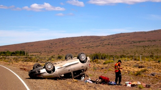 Car Crash Ruta40