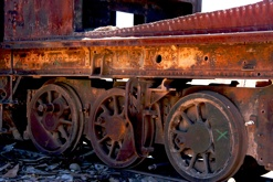 Cemmentario De Tren
