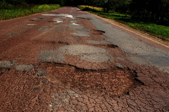 Costarica Potholes