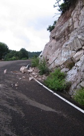Watch For Rocks After The Storm from Yecora