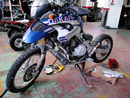 Dakar Repair-1