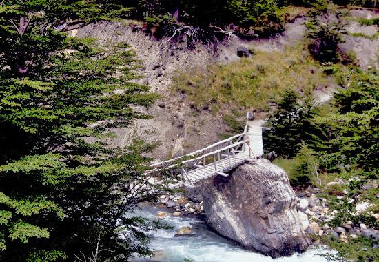 Footbridge Del Paine - Version 2