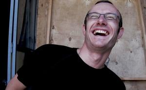 Gerben Laughing