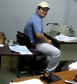 Honduran Border Official