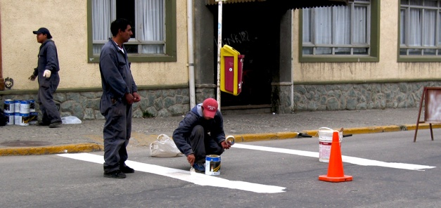 Linepainting Ushuaia