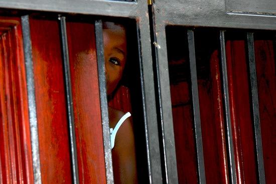 Little Girl Door