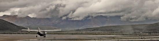 Medivac Plane Runway Potosi
