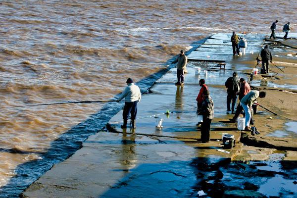Montevideo Fisherman