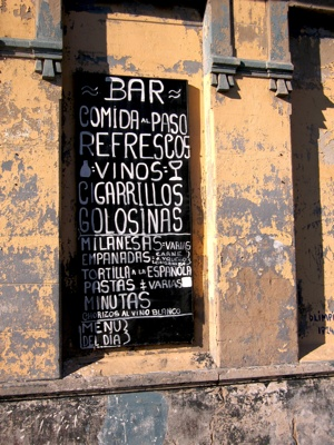 Montevideo Menu