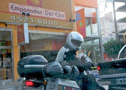 Moto Empanada Man Bsas