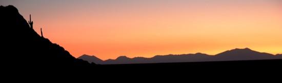 Salar Uyuni Sunset