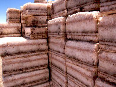 Salt Blocks Salar