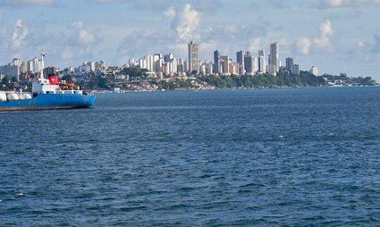Salvador From Ferry