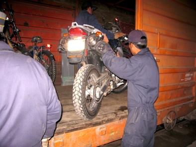 Unloading Doc Uyuni