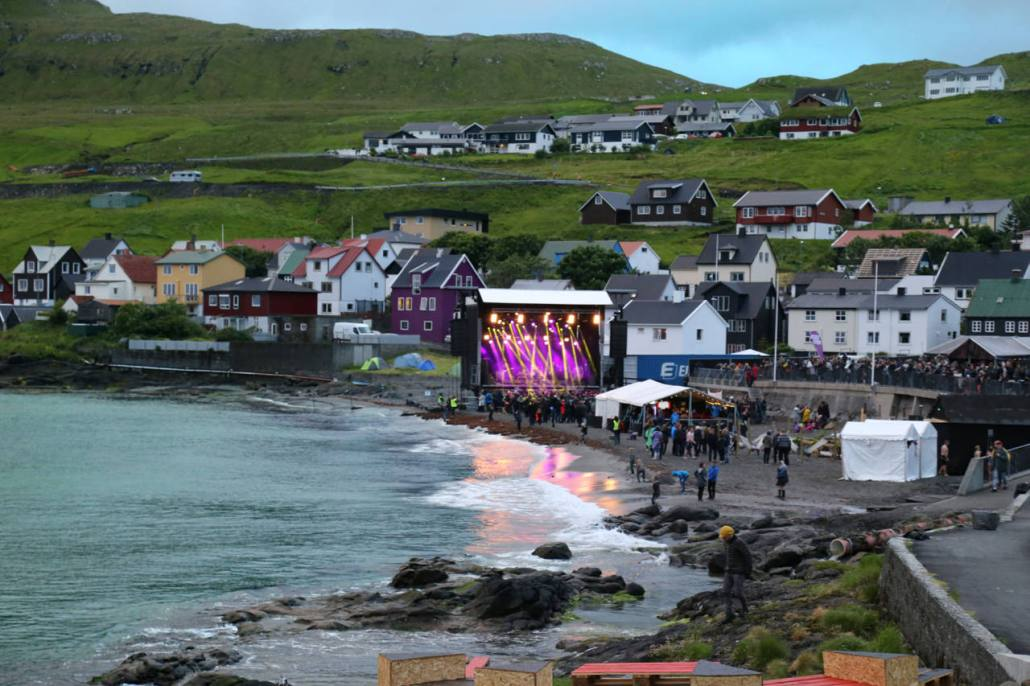 An amazing venue for the Woodstock of the Faroe Islands.