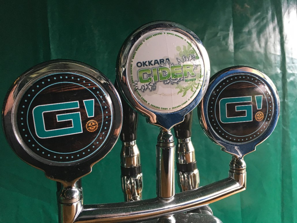 There is even a special beer made for the G! Festival and a unique carrier to take a 5-pack back to your group!