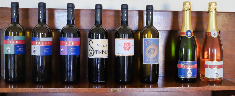 Crama Prince Stirbey wines