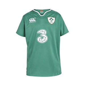 Canterbury Ireland Home Pro Short Sleeve Rugby Jersey