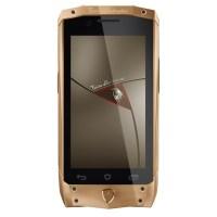 Lamborghini Antares Smartphone in Rose Gold with Brown ...