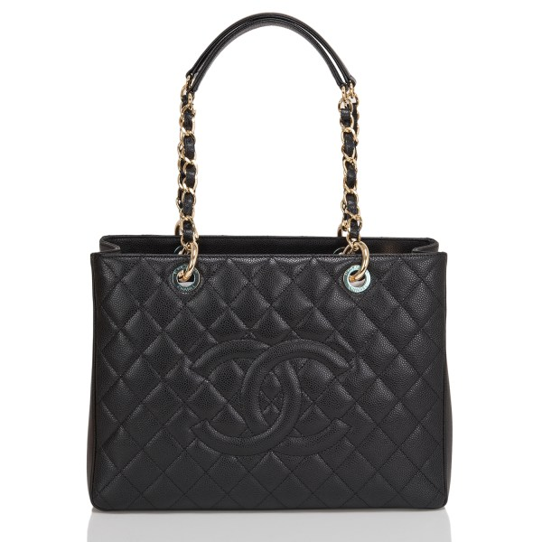 Chanel Grand Shoppers Tote Caviar Bag